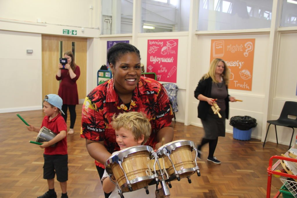 School Steel Band Workshop